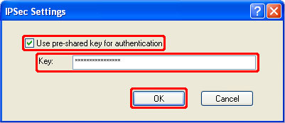 How to Setup a IPsec VPN on Windows XP Step 13