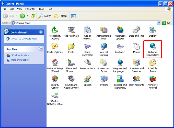 How to Setup a PPTP VPN on Windows XP Step 1