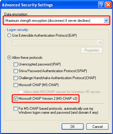 How to Setup a PPTP VPN on Windows XP Step 12