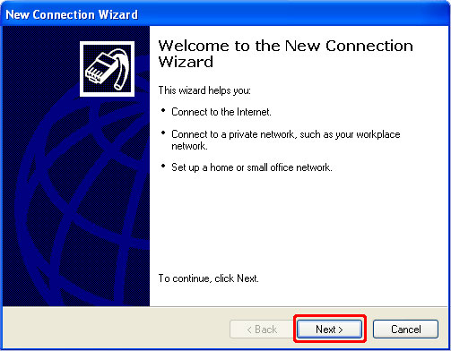 How to Setup a PPTP VPN on Windows XP Step 3