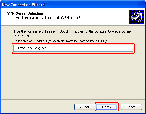 How to Setup a PPTP VPN on Windows XP Step 7